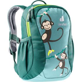 deuter Pico Backpack 5l Kids, dustblue/alpinegreen